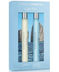 Image of DOLCE&GABBANA 2-Pc. Light Blue Travel Spray Gift Set
