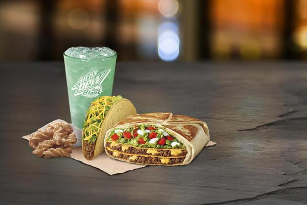 Our $5 Triple Double Crunchwrap Box is back