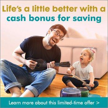 Image of Cash Bonus Up to $100