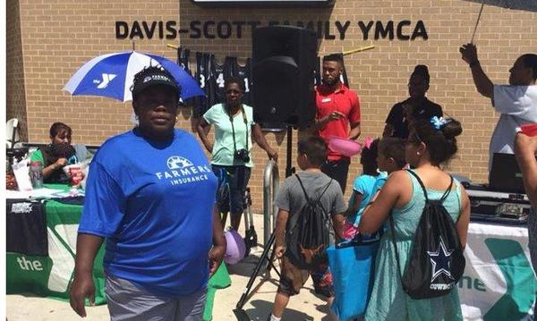 Elliott Johnson Agency supports the local YMCA for their Back to School event