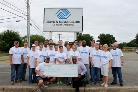 Jesse Dee Wisdom - Allstate Foundation Grant for Boys & Girls Clubs