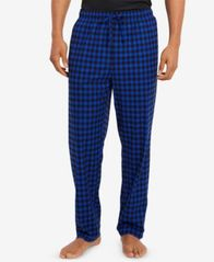 Image of Nautica Men's Printed Fleece Pants