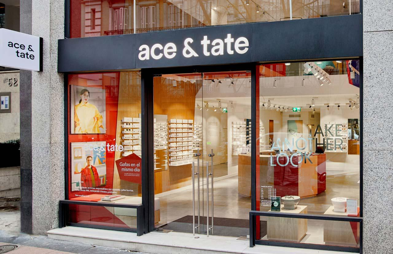 Ace & Tate Claudio Coello store interior