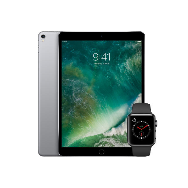 iPad and Apple Watch