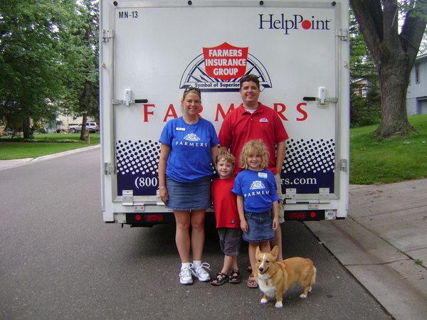 The whole family getting involved in Hastings Rivertown days