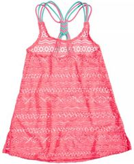 Image of Summer Crush Crochet Cover Up, Big Girls