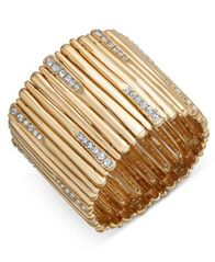 Image of I.N.C. Pavé Stick Stretch Bracelet, Created for Macy's