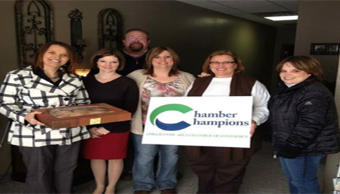 Farmers® was last months Chamber winner.  We really enjoyed the free donuts!