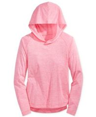 Image of Ideology Heathered Pullover Hoodie, Big Girls (7-16), Created for Macy's