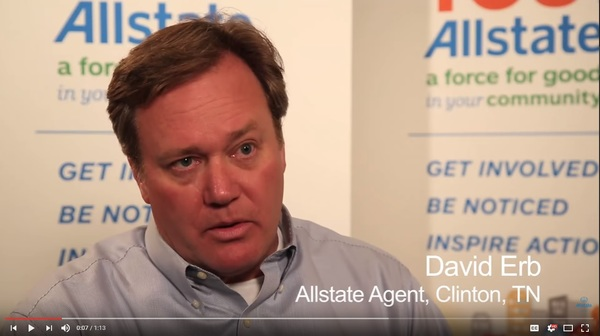 David Erb - David Erb - Community Involvement | Allstate Foundation Video