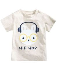 Image of First Impressions Print Cotton T-Shirt, Baby Boys, Created for Macy's