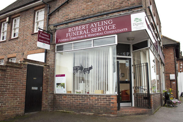 Robert Ayling Funeral Directors in The Old Post Office, Guildford