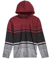 Image of Univibe Big Boys Striped Colorblocked Hoodie