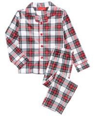 Image of Matching Family Pajamas Stewart Plaid Pajama Set, Available In Toddler and Kids, Created For Macy's
