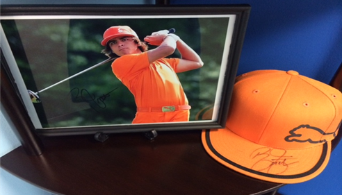 Ricky Fowler is a professional golfer sponsored by Farmers®.