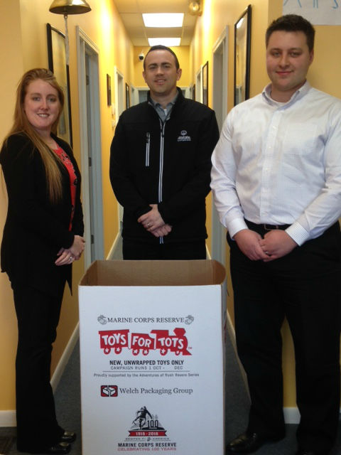 Drewniak Agency - We're Collecting for Toys for Tots!
