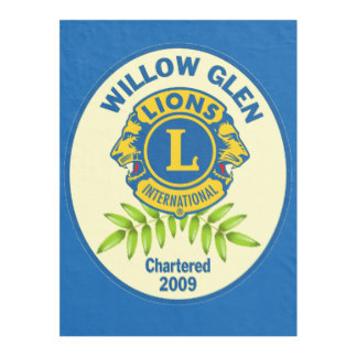 I am a proud member of the WIllow Glen Lions Club!