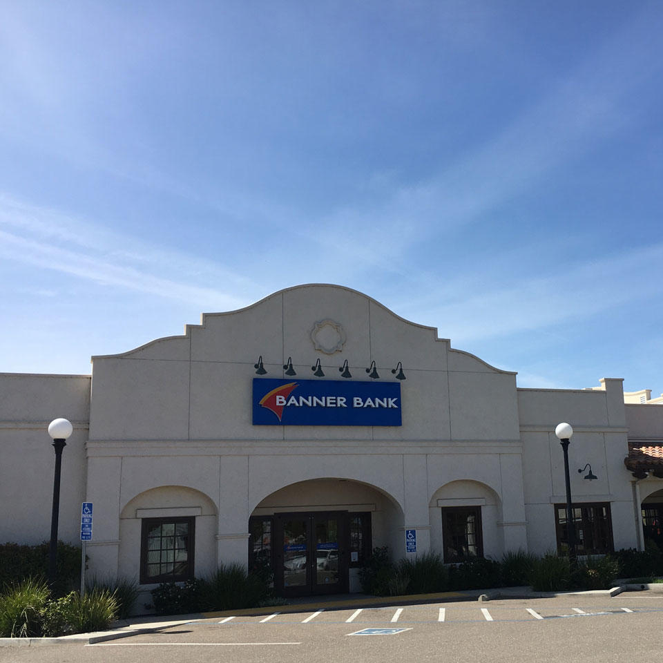 Banner Bank branch in Corning, California