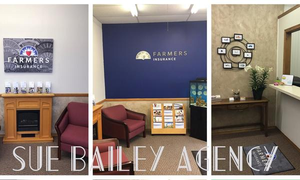 Multiple shots of the interior of the agency office