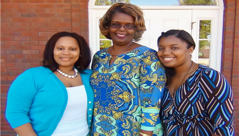 My wonderful Staff! Chasity Jackson, Sharla Taylor and Janelle Moseley
