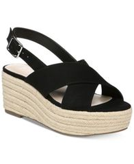 Image of Bar III Bianka Wedge Sandals, Created for Macy's