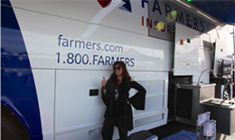 Farmers Insurance® Supporting the Autism Speaks Walk at Angel Stadium