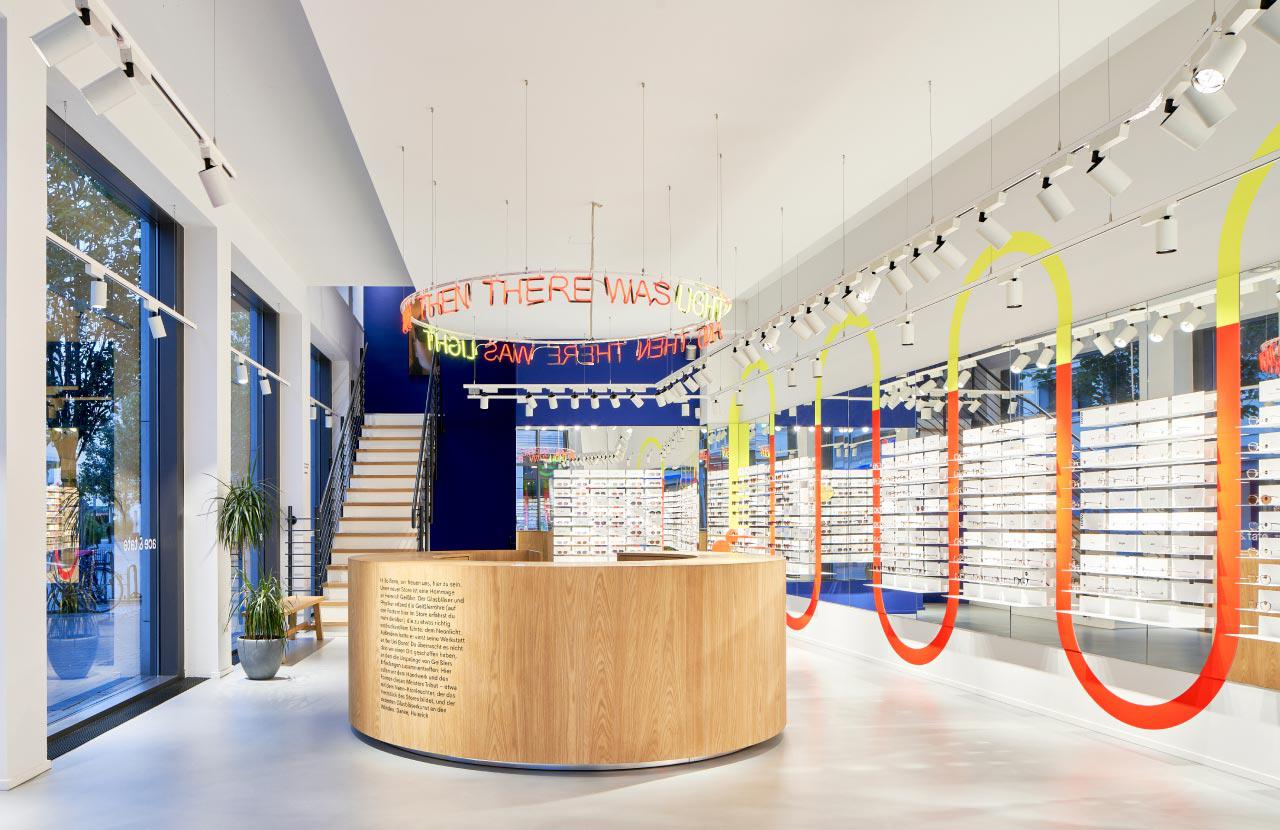 Ace & Tate Wenzelgasse store interior
