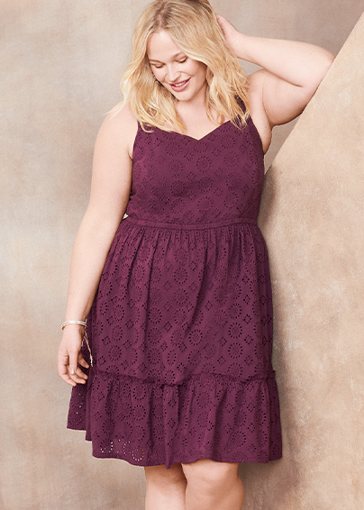 Lane Bryant Plus Size Dresses New Arrivals