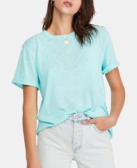 Image of Free People Cassidy Cuffed-Sleeve T-Shirt