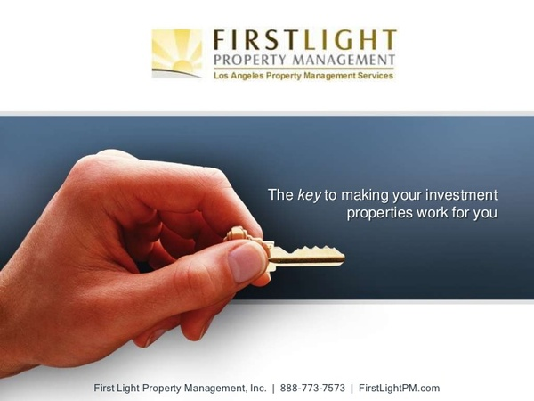 First Light Property Management