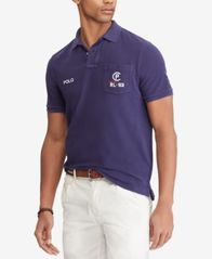 Image of Polo Ralph Lauren Men's CP-93 Classic Fit Mesh Polo, Created for Macy's