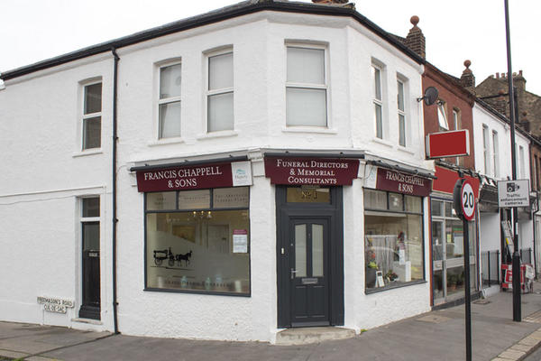 Francis Chappell & Sons Funeral Directors in East Croydon