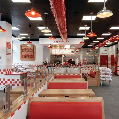 Five Guys Restaurant