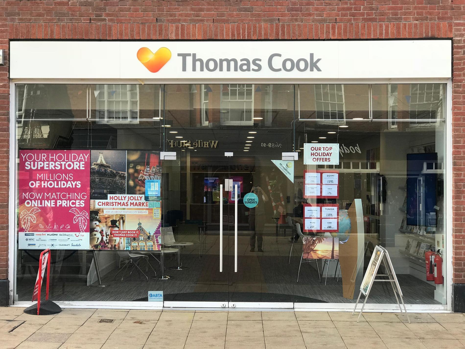 Thomas Cook Solihull Travel Store | Thomas Cook