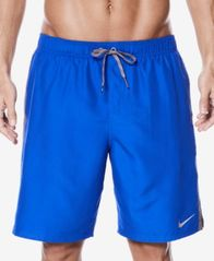 "Image of Nike Men's Diverge Colorblocked 9"" Swim Trunks"