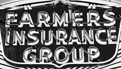 An old Farmers Insurance Group logo