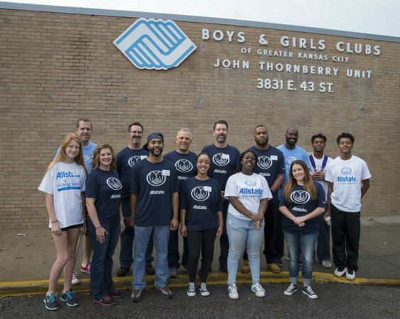 Mike Tiffany - Allstate Foundation Grant for the Boys and Girls Clubs of Greater Kansas City