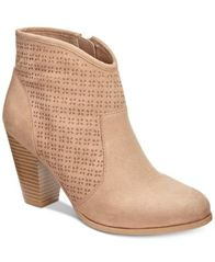 Image of American Rag Aria Perforated Booties, Created for Macy's