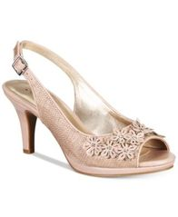 Image of Karen Scott Bronaa Sling-Back Pumps, Created for Macy's