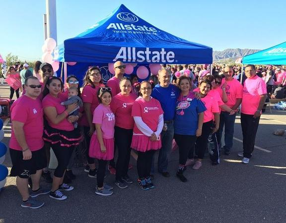 Irma Perez Agency - Allstate Foundation Helping Hands Grant for American Cancer Society