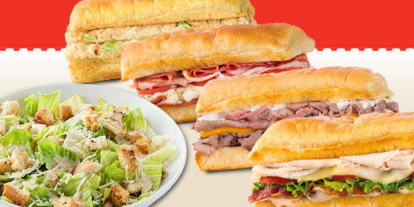 Earl of Sandwich - Family Meal Deal