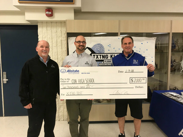 Andy Cline - The Allstate Foundation Helps Viking Booster Club