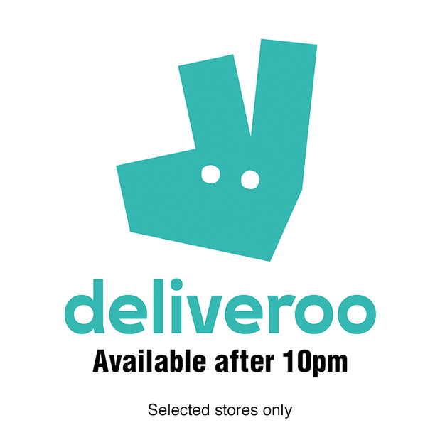 Still available on Deliveroo after 10pm