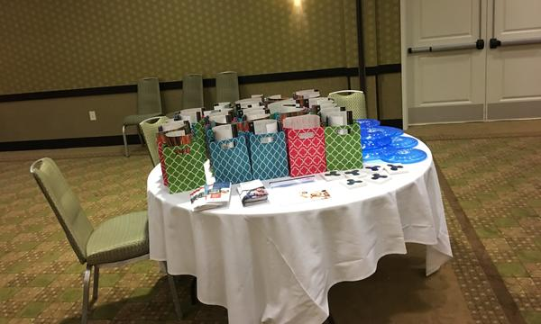 Gift bags given at our Customer Appreciation Event.