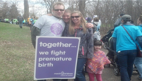 March of Dimes, March for babies 2014!