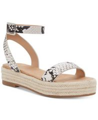 Image of I.N.C. Women's Valetta Woven Flatform Espadrilles, Created for Macy's