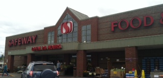 Safeway Store Front Picture at 110 E 3rd St in Port Angeles WA