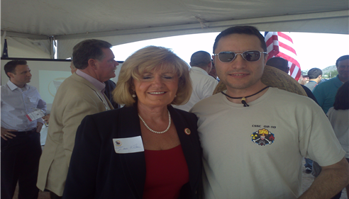 Ground Breaking ceremony for Homes For Our Troops with Senator Lori Klein