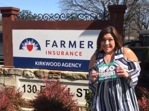 Thank you Tarrant County for voting us Society Life- Tops In Tarrant Insurance Agency 2019!
