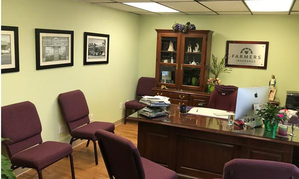 Inside of Agent Joyce Felder's office.